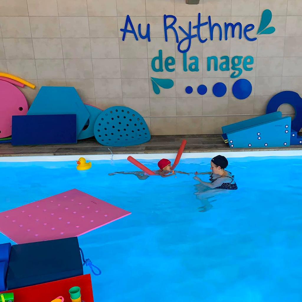 Un espace aquatique privé pour bébé nageur